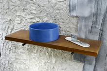 Load image into Gallery viewer, Oi - Blue Concrete Sink Bathroom - robertotiranti.shop