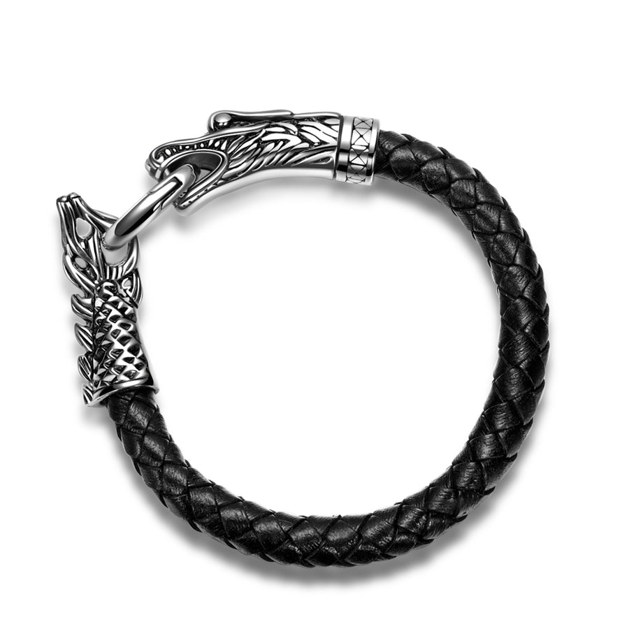 bracelet with leather