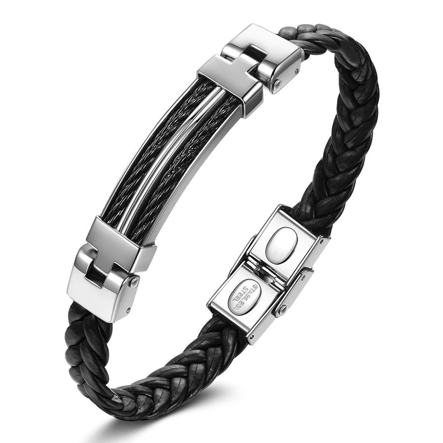 cool leather bracelets for guys