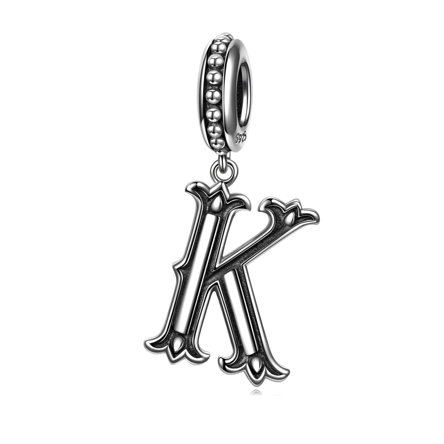 Letter K Charms