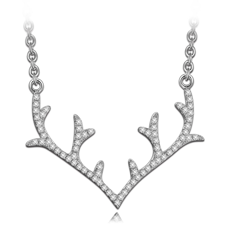 Antlers Women Necklace