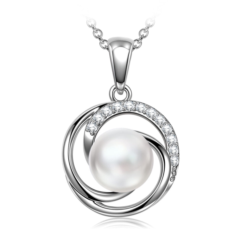 5A Cubic Zircon Necklace