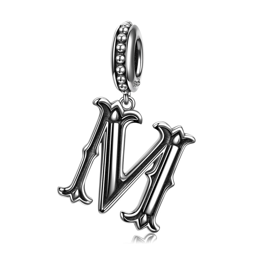 Letter M Charms