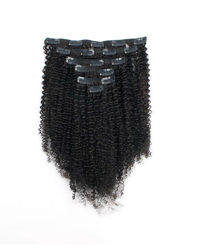 Afro Kinky Curly Clip Ins (4A-4B Texture)