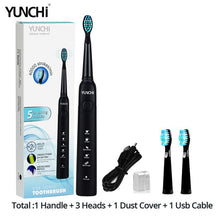 将图片加载到图库查看器,New Seago Sonic Electric Toothbrush SG-507 Adult Timer Brush USB Charger Rechargeable Tooth Brushes /Replacement Brush Heads/box