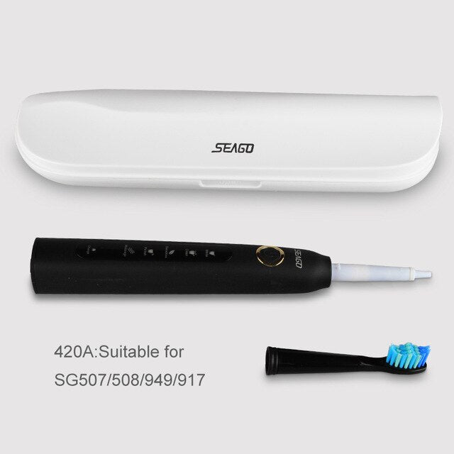 SEAGO Portable Travel Box For Electric Toothbrush Outdoor Electric Tooth Brush Protect Cover Storage Box Case (only travel box)