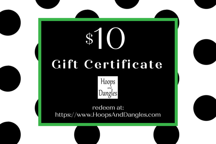 Hoops and Dangles Gift Cards