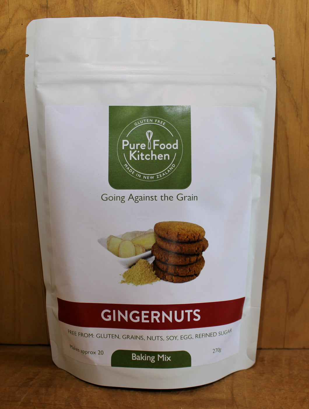 BAKING MIX GINGERNUTS 270g