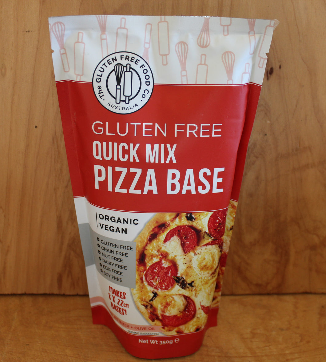 GLUTEN FREE PIZZA BASE MIX 350g