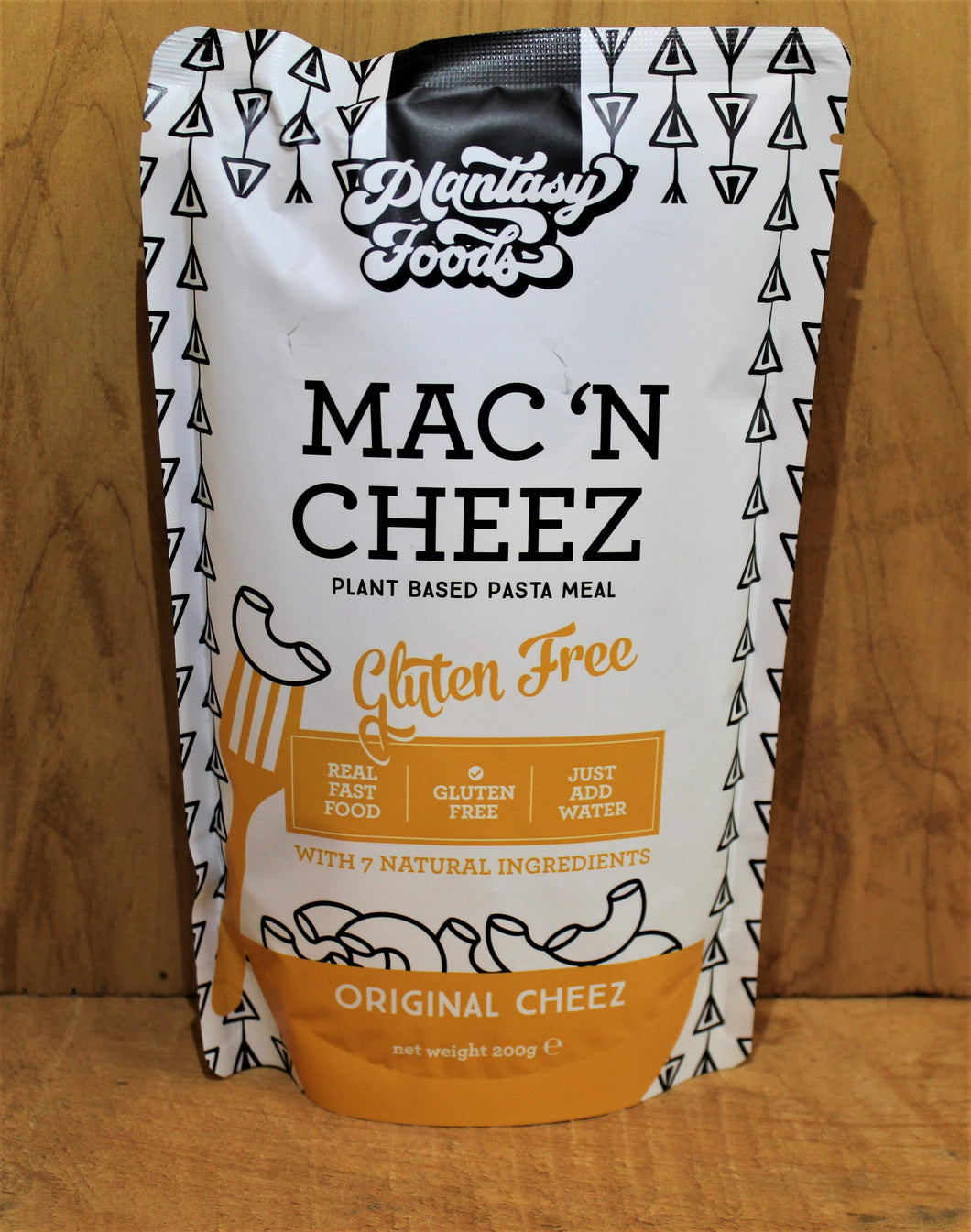 MAC n CHEEZ, PLANT BASED, PASTA MEAL. ORIGINAL, 200g