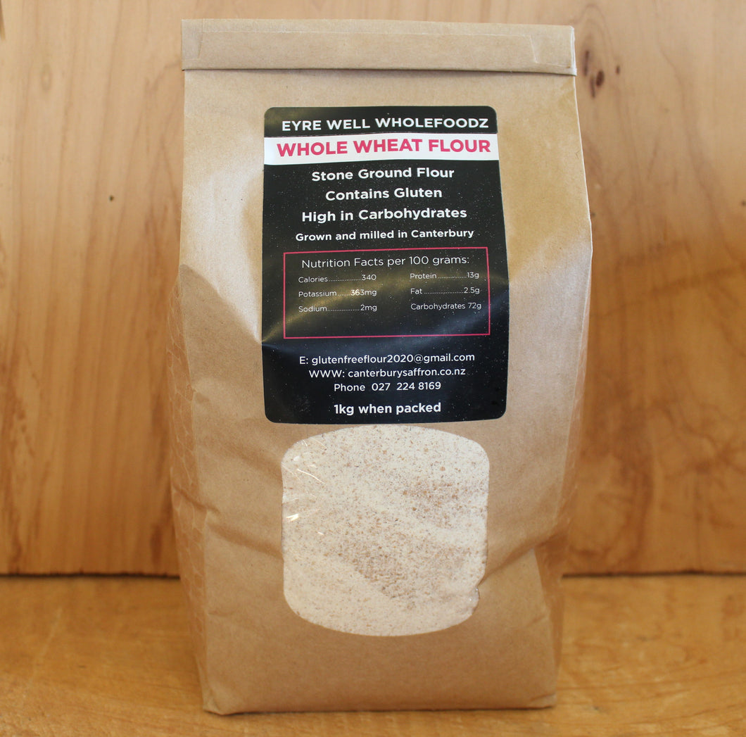 FRESH WHOLE WHEAT FLOUR 4 KGS