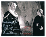 Michael Carter Bib Fortuna Signed 8x10 Star Wars Autograph Photo w/ Luke COA