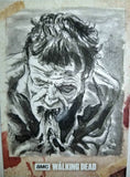 Zombie #1 The Walking Dead Season 8 Sketch Card Neil Camera Topps 1/1