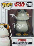 Porg #198 - Star Wars: The Last Jedi Funko Pop! Figure Signed By Brian Herring