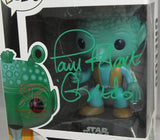 Greedo Pop! Star Wars Vinyl Figure (Damaged Box) Autographed By Paul Blake