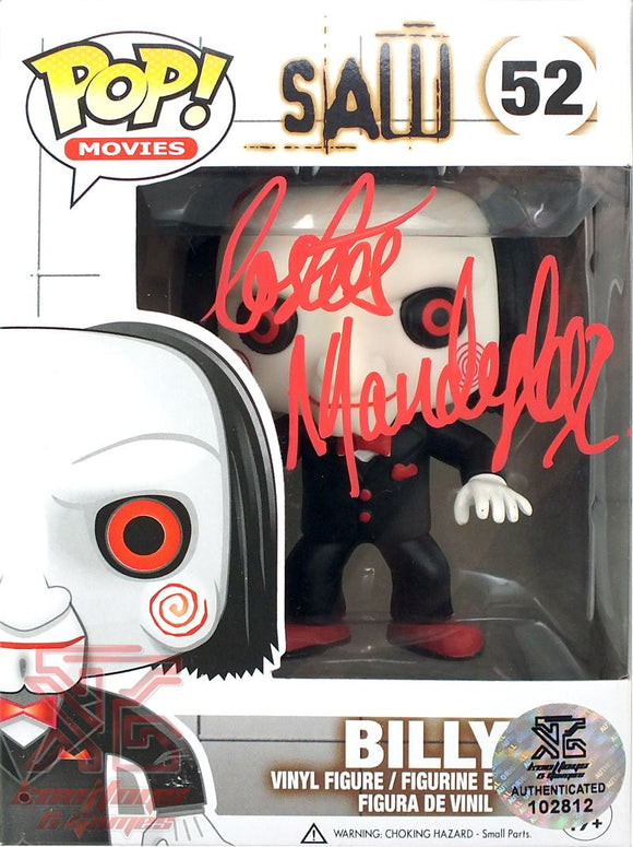 Billy #52 (SAW) Funko Pop! Vinyl Figure Signed Autograph by Costas Mandylor COA