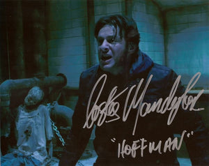 "Costas Mandylor SAW VII Autographed 8""x10"" Photo Inscribed ""Hoffman"""