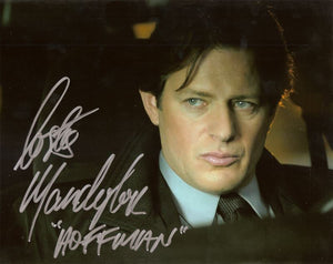 "Costas Mandylor SAW V Autographed 8x10 Photo Inscribed ""Hoffman Is Watching"" COA"