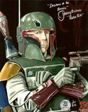 Jeremy Bulloch as Boba Fett Autographed 8x10 Star Wars Photo Exclusive LE/20 COA