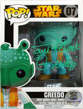 Greedo Funko Pop! Star Wars Figure Autograph Signed By Paul Blake LE/150 COA
