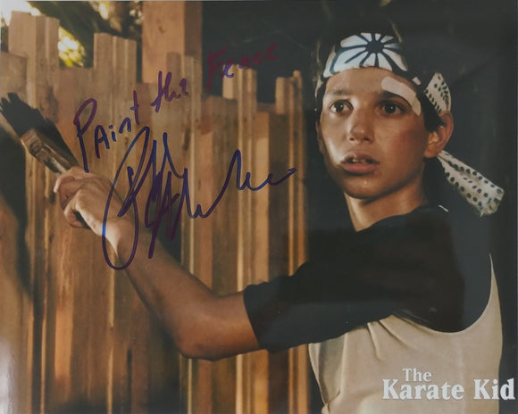 Ralph Macchio Autographed 8x10 Photo - Karate Kid Inscribed