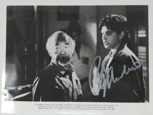 Ralph Macchio Autographed Karate Kid III 8x10 Press Photo 1989 Mr Miyagi