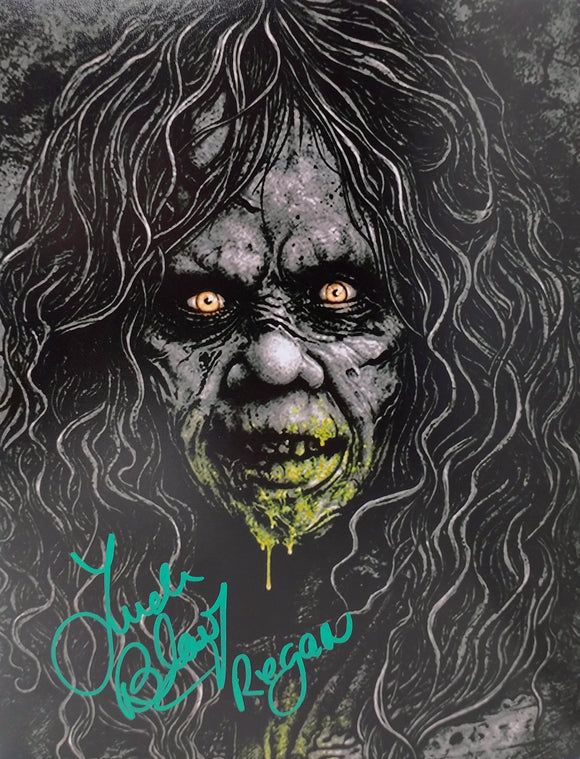 Linda Blair Signed The Exorcist 8x10 Regan Photo 02