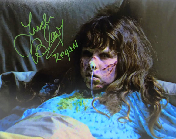 Linda Blair Signed The Exorcist 8x10 Regan Photo 03