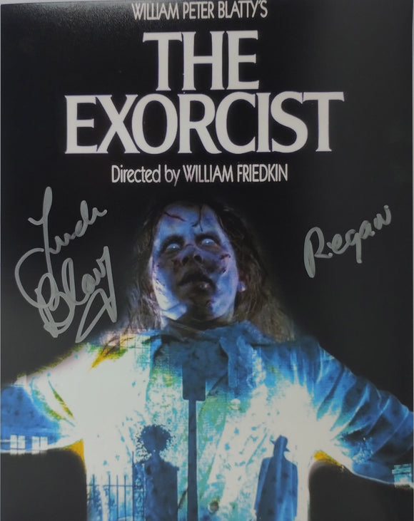 Linda Blair Signed The Exorcist 8x10 Regan Poster Photo 04