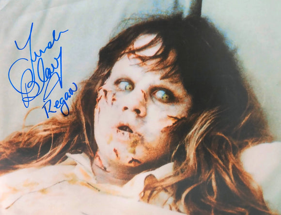 Linda Blair Signed The Exorcist 8x10 Regan Photo 05