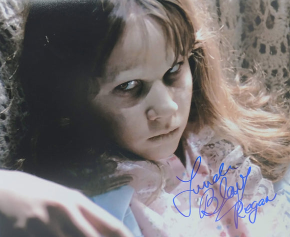 Linda Blair Signed The Exorcist 8x10 Regan Photo 06