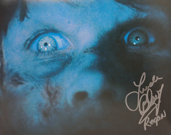 Linda Blair Signed The Exorcist 8x10 Regan Photo 07