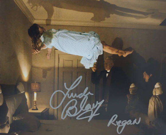 Linda Blair Signed The Exorcist 8x10 Regan Photo 08