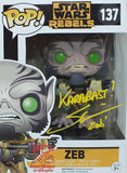 Zeb - Star Wars Rebels Funko Pop Signed by Steve Blum