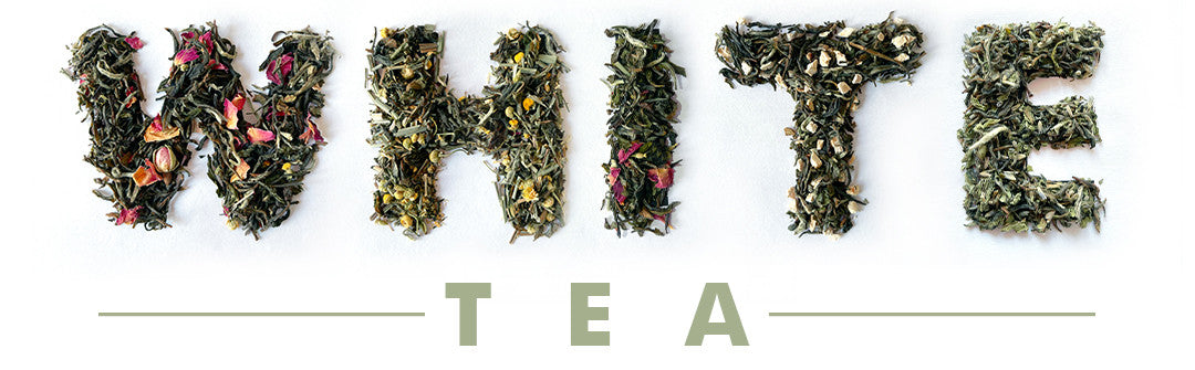 white tea leaf font Alphabet w, h, i, t, e, t, e, a, made of Real alive whole leaf of letter. health benefits of white tea