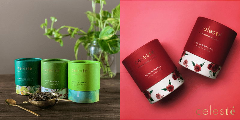 loose leaf tea package of 50 gram falls between the price range of Rs 500 and Rs 900.