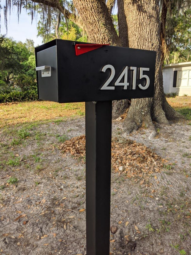 Malone - Post Mounted Mailbox