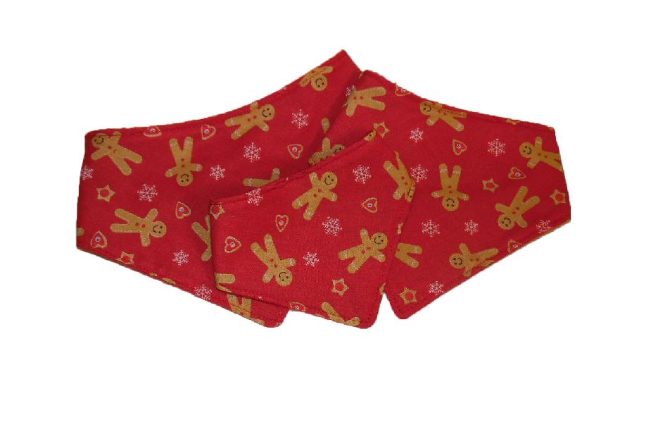 Red Gingerbread Man Bandannas