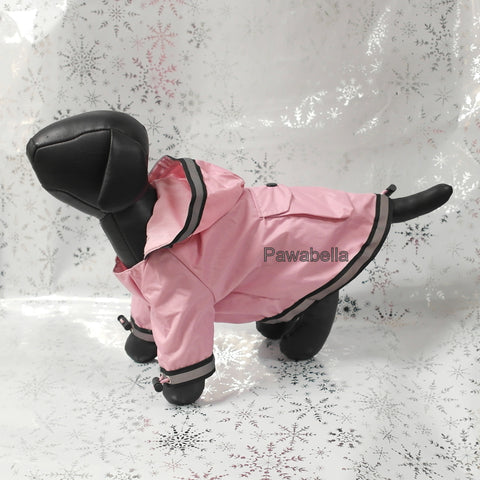 Pink Coat Reflective Trim