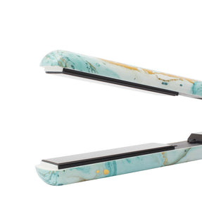 Tru Beauty Marble Flat Iron - Mint and Gold