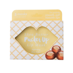 Pucker Up Lip Masks 5pk - 6 Extracts