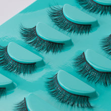 Load image into Gallery viewer, Tru Beauty Natural Mink Lashes, 5 Reusable Pairs, Adhesive Included