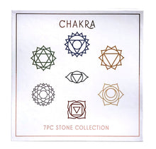 Load image into Gallery viewer, Chakra 7pc. Stone Collection