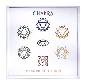 Chakra 7pc. Stone Collection