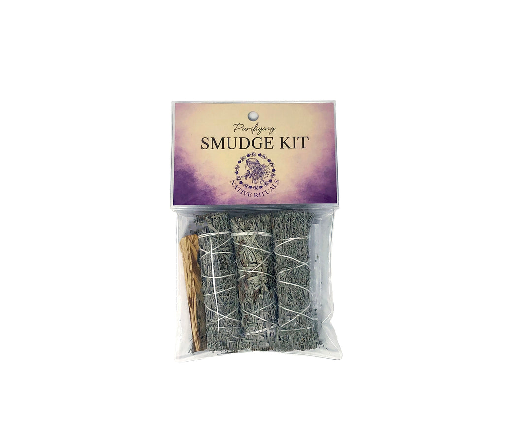 Native Rituals Purifying Smudge Kit