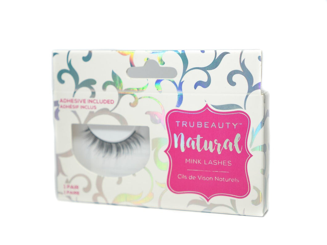 Tru Beauty Natural Mink Lashes – 1 Pair