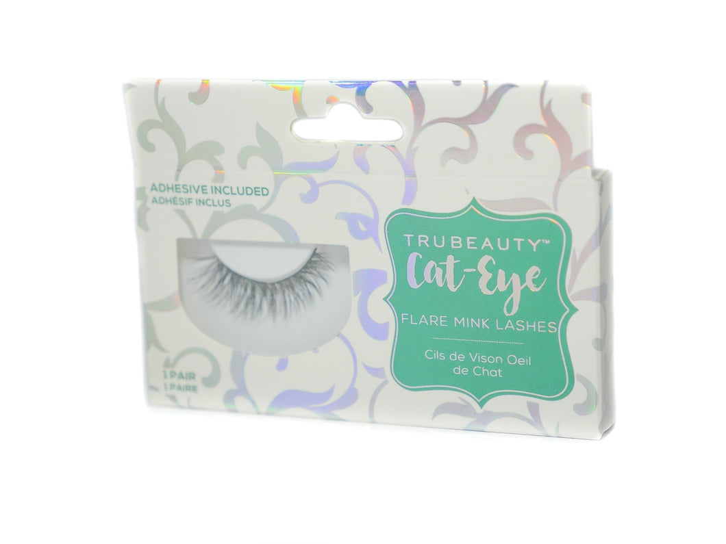 Tru Beauty Cat-Eye Mink Lashes – 1 Pair