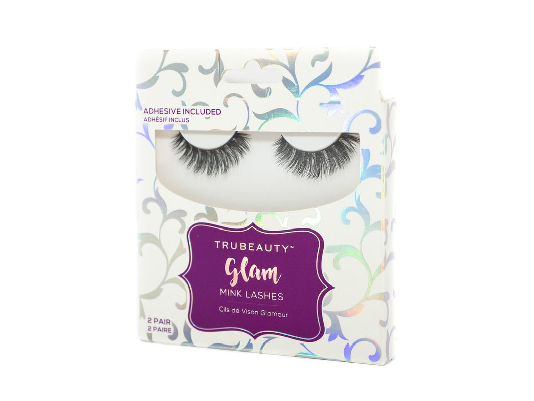 Tru Beauty Glam Mink Lashes – 2 Pair