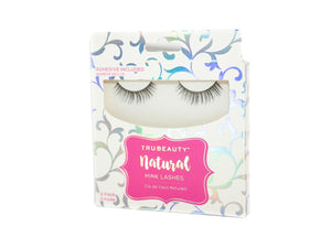 Tru Beauty Natural Mink Lashes – 2 Pair