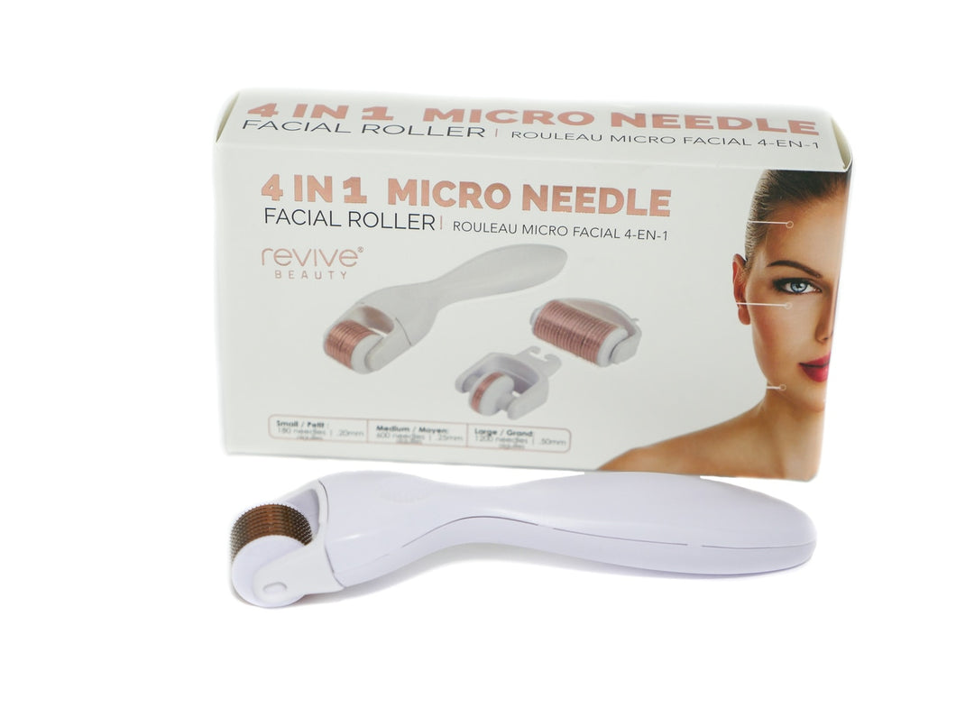 Revive Beauty 4 in 1 Micro Needle Facial Roller